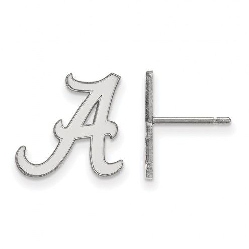 Alabama Crimson Tide NCAA Sterling Silver Small Post Earrings