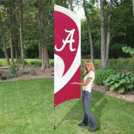 Alabama Crimson Tide NCAA Tall Team Flag