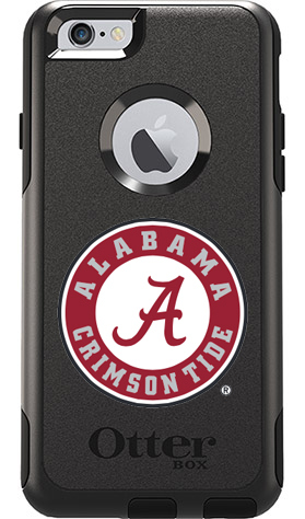 Alabama Crimson Tide OtterBox iPhone 6/6s Commuter Black Case