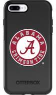 Alabama Crimson Tide OtterBox iPhone 8 Plus/7 Plus Symmetry Black Case