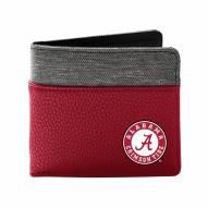 Alabama Crimson Tide Pebble Bi-Fold Wallet
