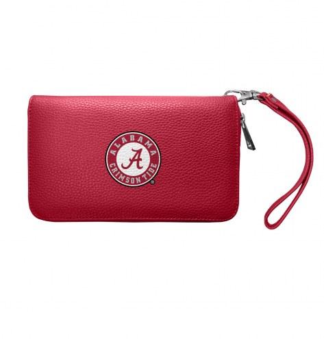 Alabama Crimson Tide Pebble Organizer Wallet