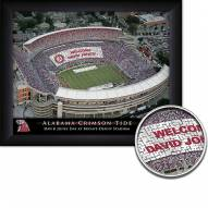 Alabama Crimson Tide 11 x 14 Personalized Framed Stadium Print