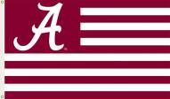 Alabama Crimson Tide Premium Striped 3' x 5' Flag