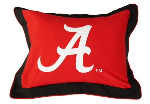 Alabama Crimson Tide Printed Pillow Sham