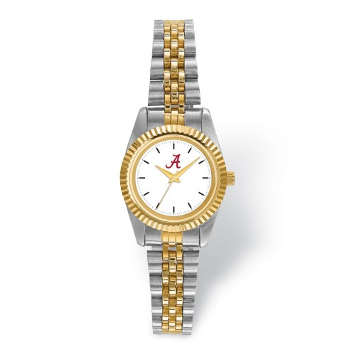 Alabama Crimson Tide Pro Two-Tone Ladies Watch