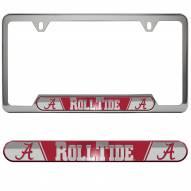 Alabama Crimson Tide License Plate Frame