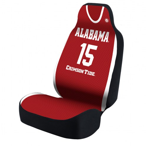 Alabama Crimson Tide Red Jersey Universal Bucket Car Seat Cover