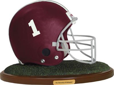 Alabama Crimson Tide Collectible Football Helmet Figurine