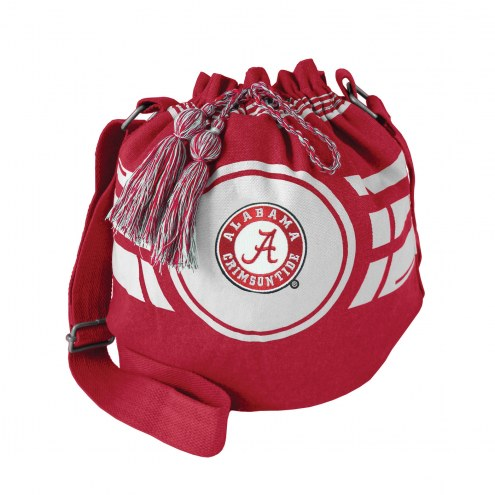 Alabama Crimson Tide Ripple Drawstring Bucket Bag