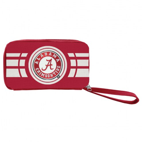 Alabama Crimson Tide Ripple Zip Wallet