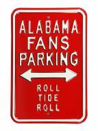 Alabama Crimson Tide Roll Tide Parking Sign