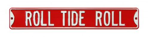 Alabama Crimson Tide Roll Tide Street Sign