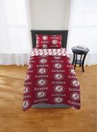 Alabama Crimson Tide Rotary Twin Bed in a Bag Set