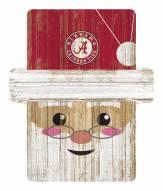 Alabama Crimson Tide Santa Ornament