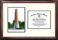 Alabama Crimson Tide Scholar Diploma Frame