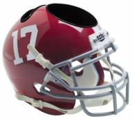 Alabama Crimson Tide Schutt Football Helmet Desk Caddy