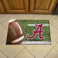 Alabama Crimson Tide Scraper Door Mat
