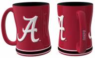 Alabama Crimson Tide Sculpted Relief Coffee Mug