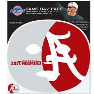 Alabama Crimson Tide Set of 8 Game Day Faces
