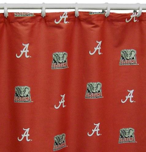 Alabama Crimson Tide Shower Curtain