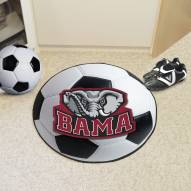 Alabama Crimson Tide Soccer Ball Mat