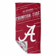 Alabama Crimson Tide Splitter Beach Towel