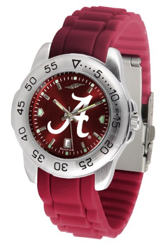 Alabama Crimson Tide Sport Silicone Men's Watch