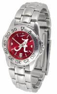 Alabama Crimson Tide Sport Steel AnoChrome Women's Watch