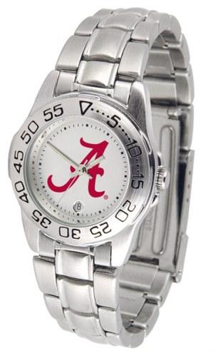 Alabama Crimson Tide Sport Steel Women's Watch