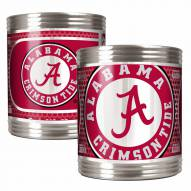 Alabama Crimson Tide Stainless Steel Hi-Def Coozie Set