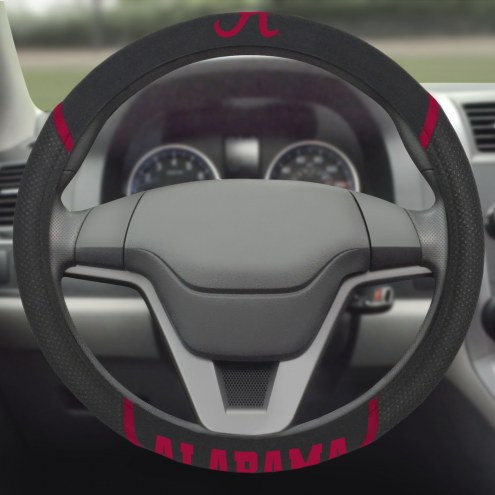 Alabama Crimson Tide Steering Wheel Cover