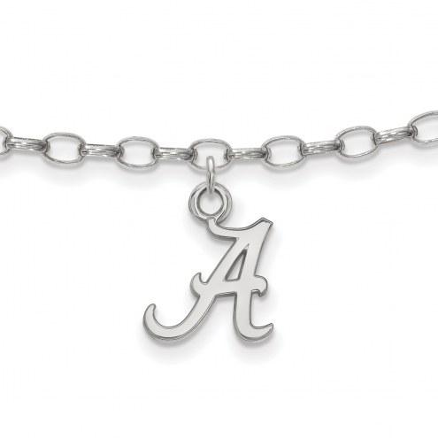 Alabama Crimson Tide Sterling Silver Anklet
