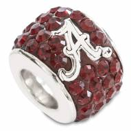 Alabama Crimson Tide Sterling Silver Charm Bead