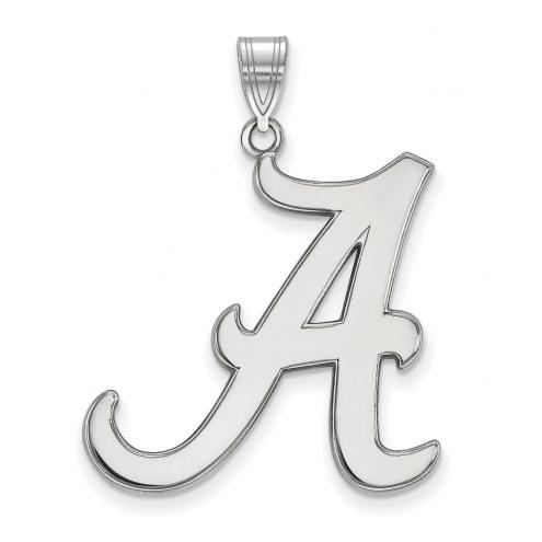 Alabama Crimson Tide Sterling Silver Extra Large Pendant