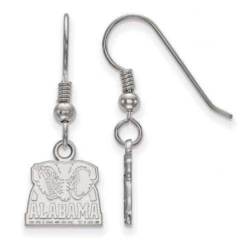 Alabama Crimson Tide Sterling Silver Extra Small Dangle Earrings