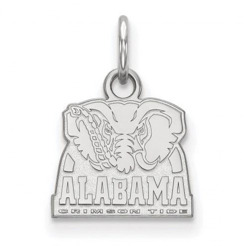 Alabama Crimson Tide Sterling Silver Extra Small Pendant