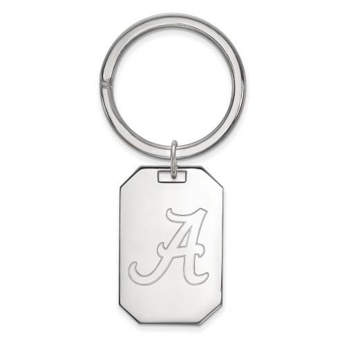 Alabama Crimson Tide Sterling Silver Key Chain