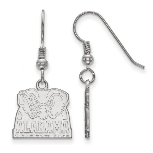 Alabama Crimson Tide Sterling Silver Small Dangle Earrings