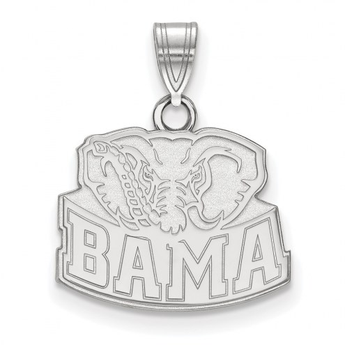 Alabama Crimson Tide Sterling Silver Small Pendant