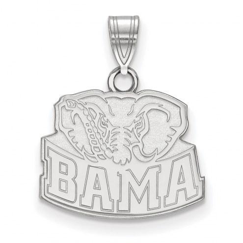 Alabama Crimson Tide Sterling Silver Small Pendant