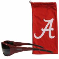 Alabama Crimson Tide Sunglasses and Bag Set