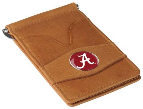 Alabama Crimson Tide Tan Player's Wallet