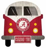 Alabama Crimson Tide Team Bus Sign