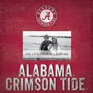 "Alabama Crimson Tide Team Name 10"" x 10"" Picture Frame"
