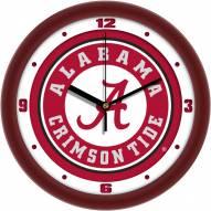 Alabama Crimson Tide Traditional Wall Clock