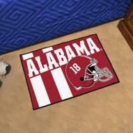 Alabama Crimson Tide Uniform Inspired Starter Rug