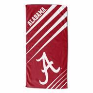 Alabama Crimson Tide Upward Beach Towel