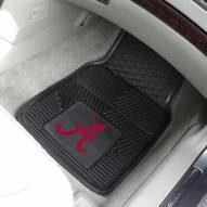 Alabama Crimson Tide Vinyl 2-Piece Car Floor Mats