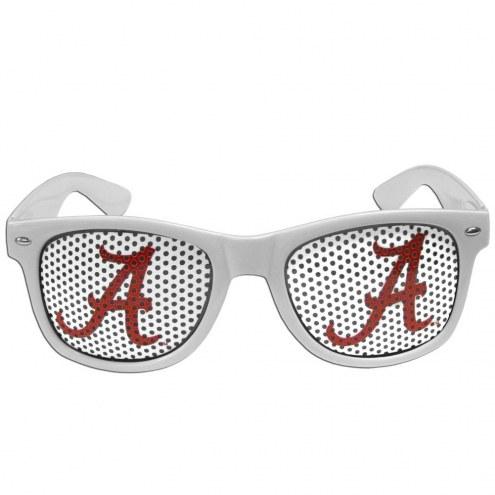 Alabama Crimson Tide White Game Day Shades
